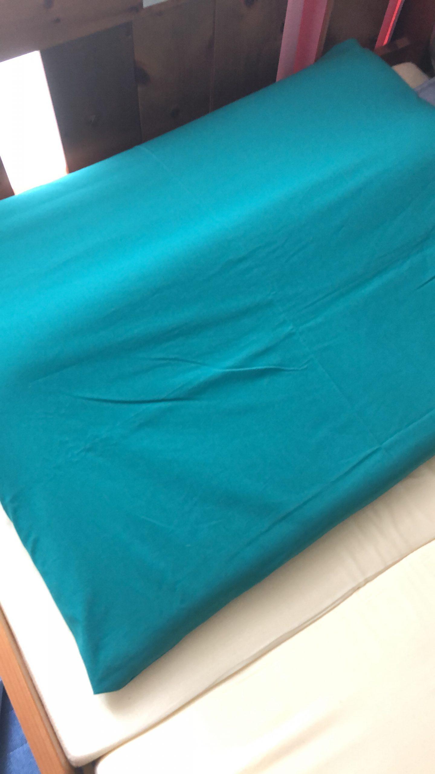 枕カバーを作りました